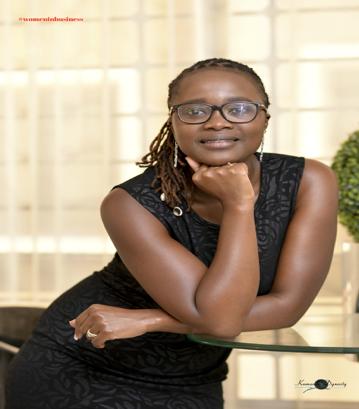 Evelyn Kasina, CEO & Founder of Eveminet Communication, Kenya
